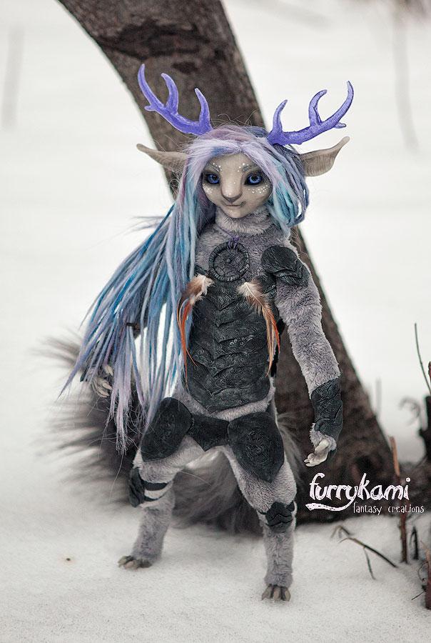Shadow spirit by Furrykami-creatures