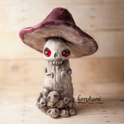 Deadly mushroom furrykami by Furrykami-creatures