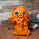 Custom made baby Cthulhu