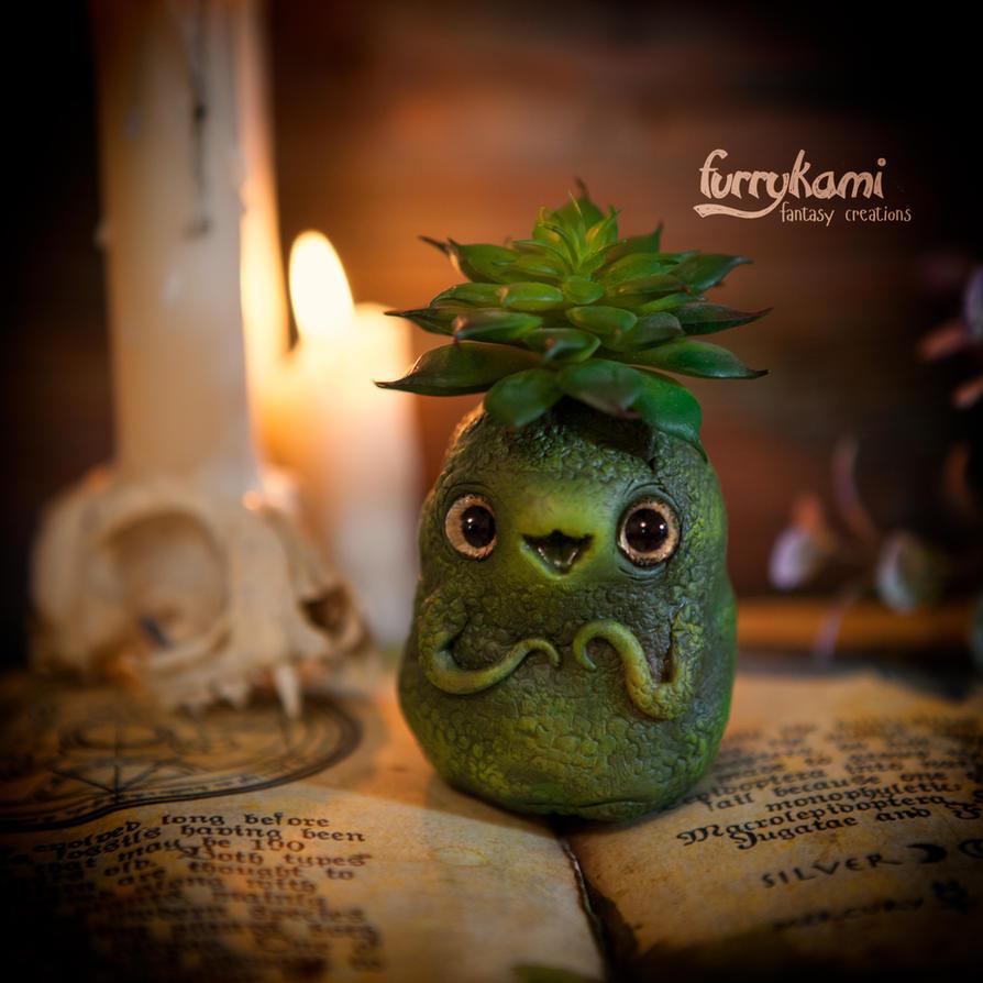 Baby succulent by Furrykami-creatures