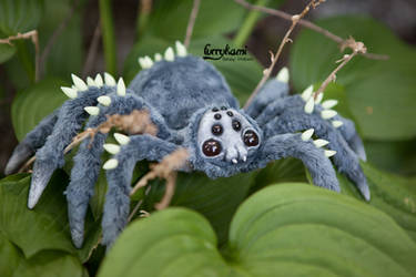 Spider art doll