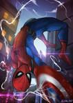 Spiderman Fan Art Civil War ver.