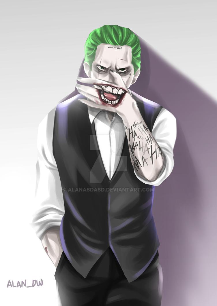 joker fan art by alanasdasd on deviantart