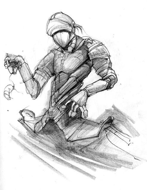 Robot Drawing Robot Dr...