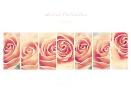 Roses 2009 Calendar by tigerelune
