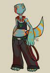 Anthro Tokay Gecko