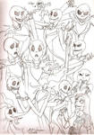 Jack Skellington Sketches