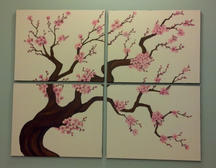 Blossom Branch Painting | www.imgkid.com - The Image Kid ...