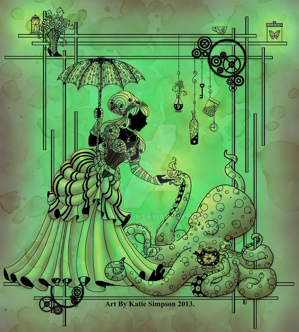 Otto And Victoria: Silhouette Otto And Victoria By Redhead-K On DeviantArt