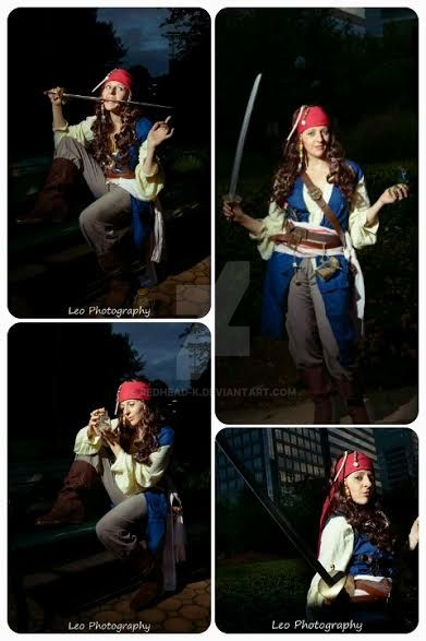 Jacky Sparrow by Redhead-K