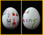 Good Omens Easter Egg by ShakespeareFreak