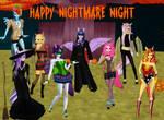 Nightmare Night in Ponyville by ShakespeareFreak