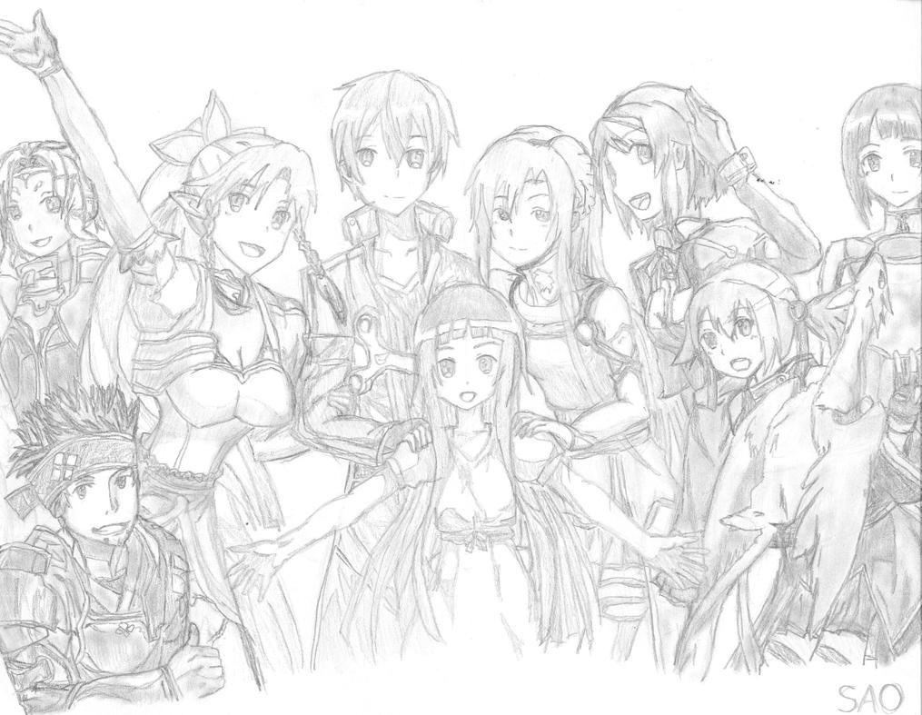 Sao sketch by renph on deviantart for Sketch it online