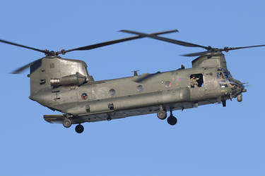 First Chinook back #2