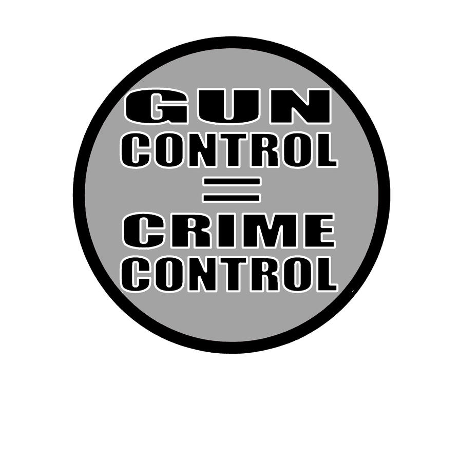 a description of gun control not crime control The underlying premise of nearly every type of gun control is that crime will be reduced this is not necessarily the case gun control inevitably delays the purchase of a weapon by honest people who need a gun for self defense.