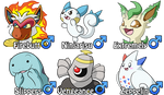 Marriland's Platinum Nuzlocke - The Final Team