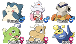 HeartGold Wedlocke - The Kanto Team by Marriland