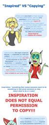 Cuddles Rambles: Inspired VS Copying by CuddlesAndHuggles