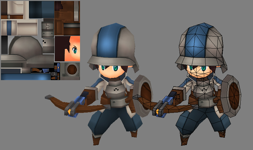 Soldier Model by EelGod