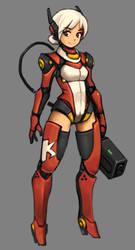 Robot Girl by EelGod