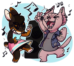 Jammin Out by Shady-Raichu