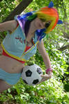 Rainbow Dash Cosplay pic 4