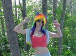 Rainbow Dash Cosplay pic 5