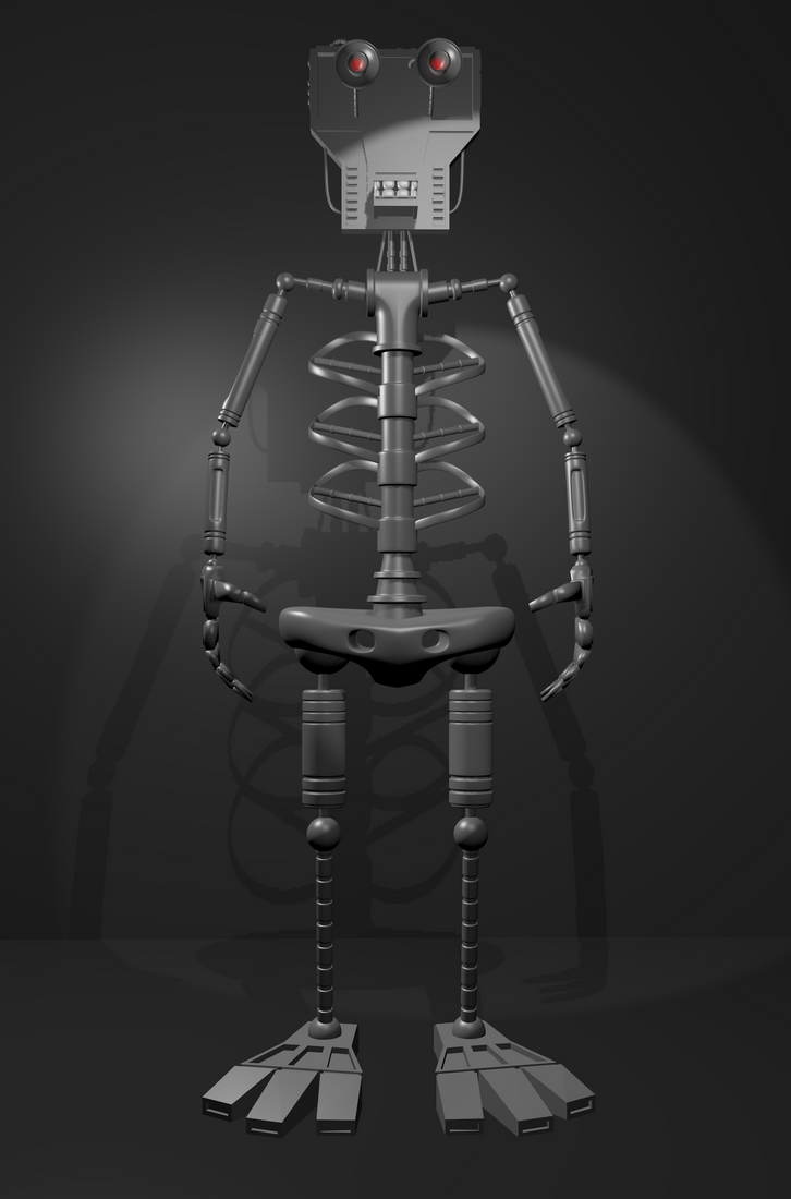 EndoSkeleton WIP by avidlebon
