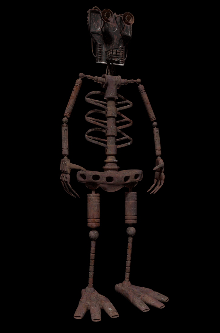 Endoskeleton WIP 2 by avidlebon