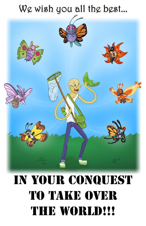 Charlie's Butterflies [Pokemon Themed] by avidlebon