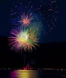 Fireworks 40 by HodoPhoto