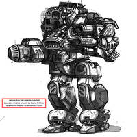 KEEPstriker - mecha redesign by realblacktiger