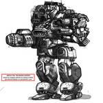 KEEPstriker - mecha redesign