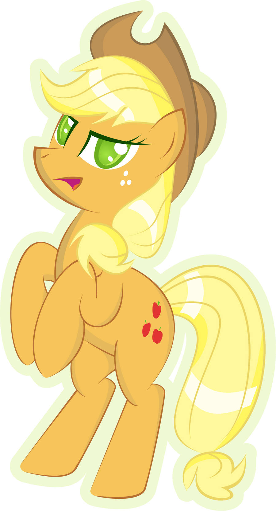 Applejack by UP1TER