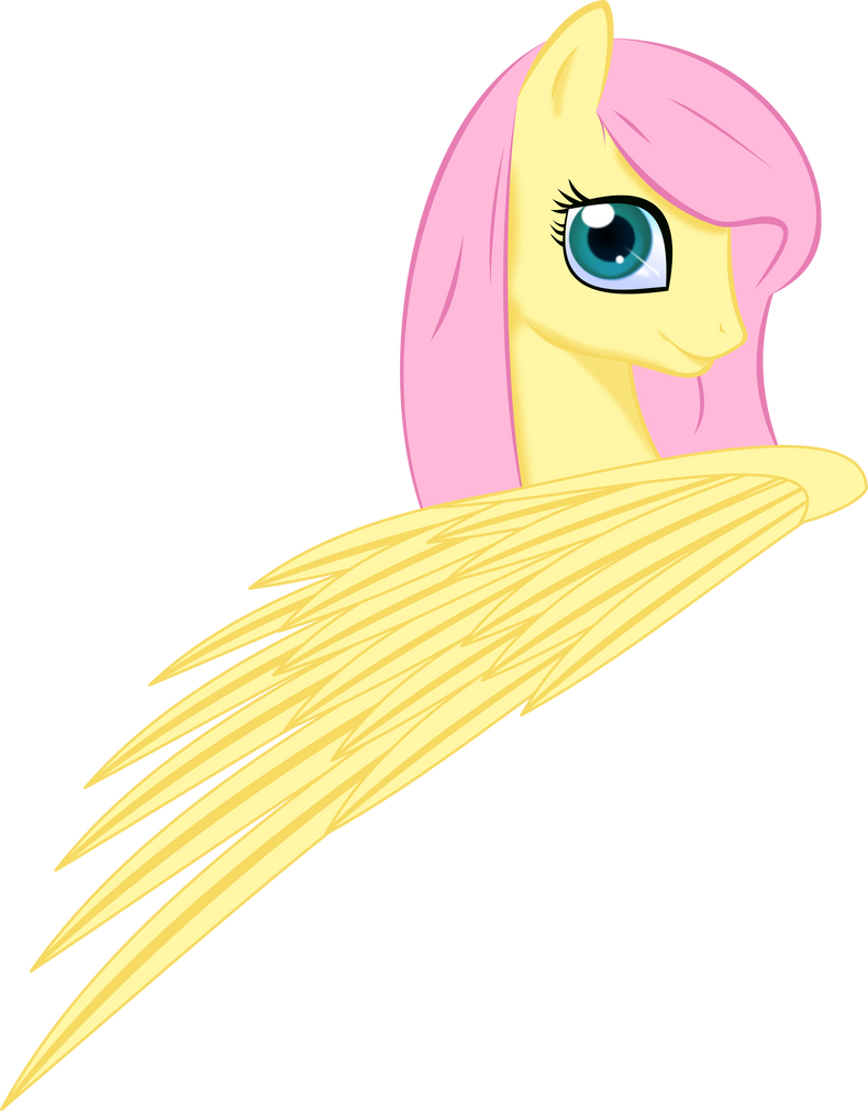 30  renders My little pony Fluttershy_by_up1ter-d53fxdi