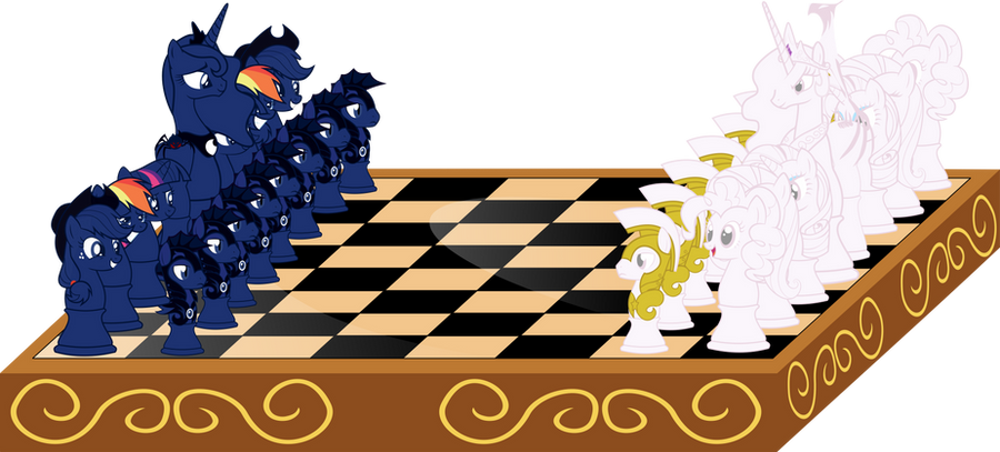 30  renders My little pony Let__s_play_a_chess__by_up1ter-d54lb59