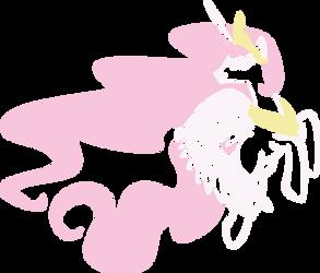 Princess Celestia by UP1TER