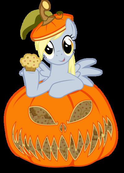 Derpy in Pumpkin by UP1TER