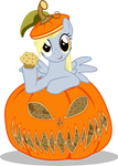 Derpy in Pumpkin