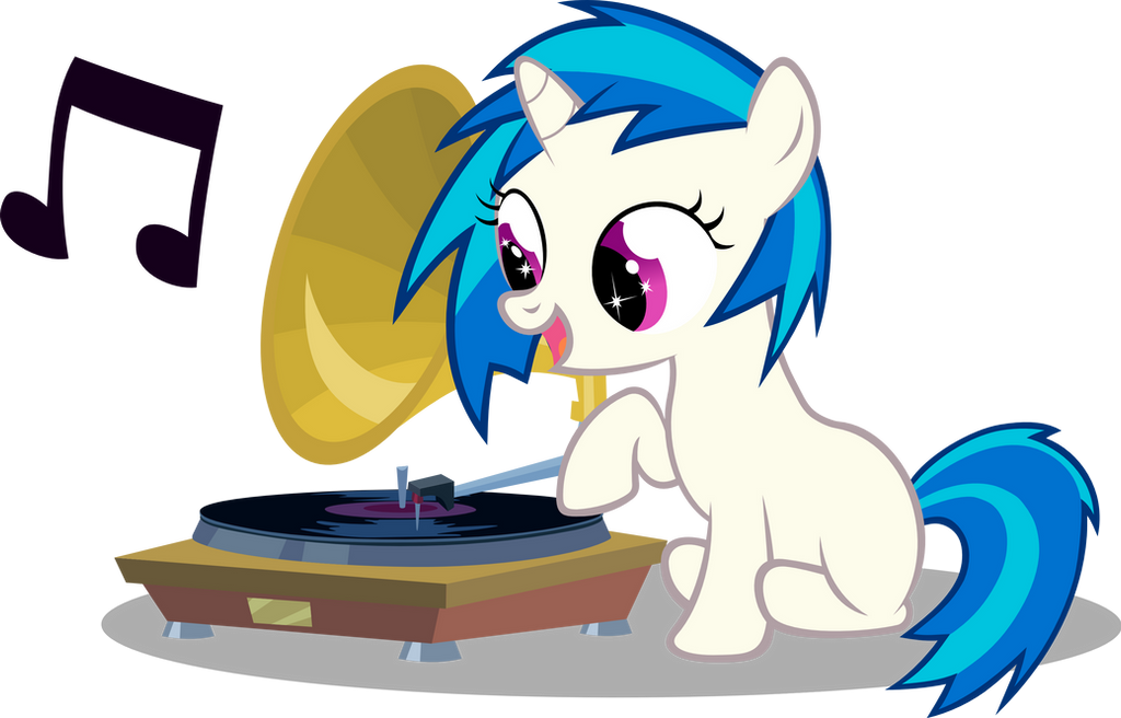 Vinyl Scratch Cutie Mark by UP1TER