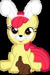 Easter Bunny Applebloom