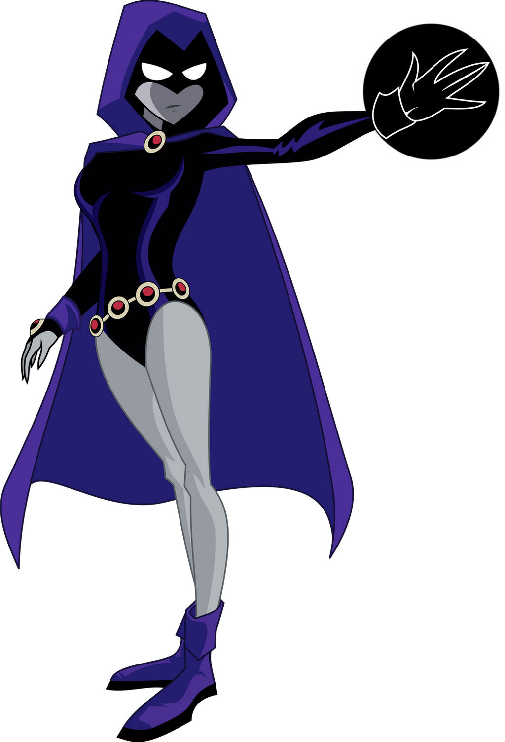 Teen Titans Raven by The-Raven-Club on DeviantArt