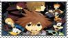 Kingdom Hearts 2 Manga Stamp by RandomStamps