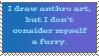 Not a furry