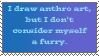 Not a furry by RandomStamps