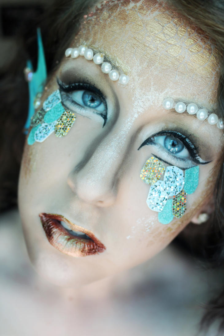 Mermaid Makeup II by caitlin-soulia on DeviantArt