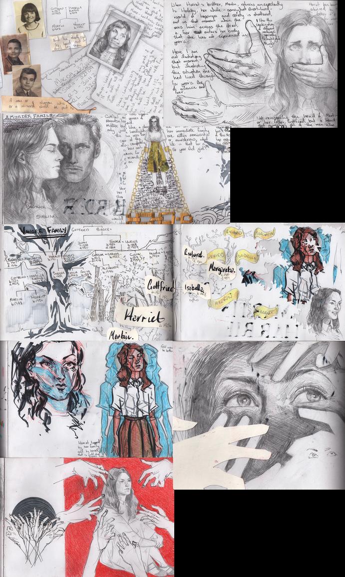November Sketchdump by lou2209
