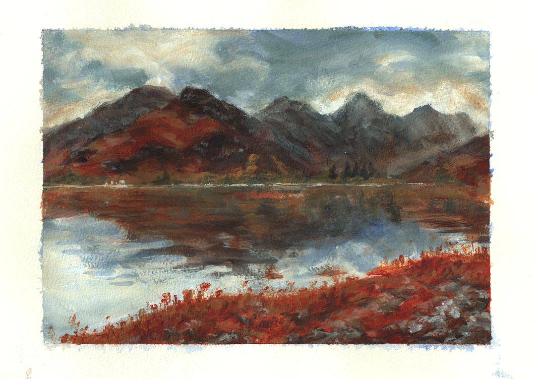 Five Sisters of Kintail by lou2209