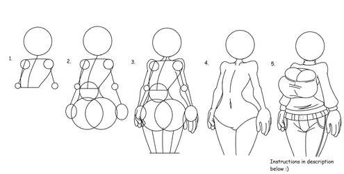 Tutorial on How to Draw Smexy Ladies