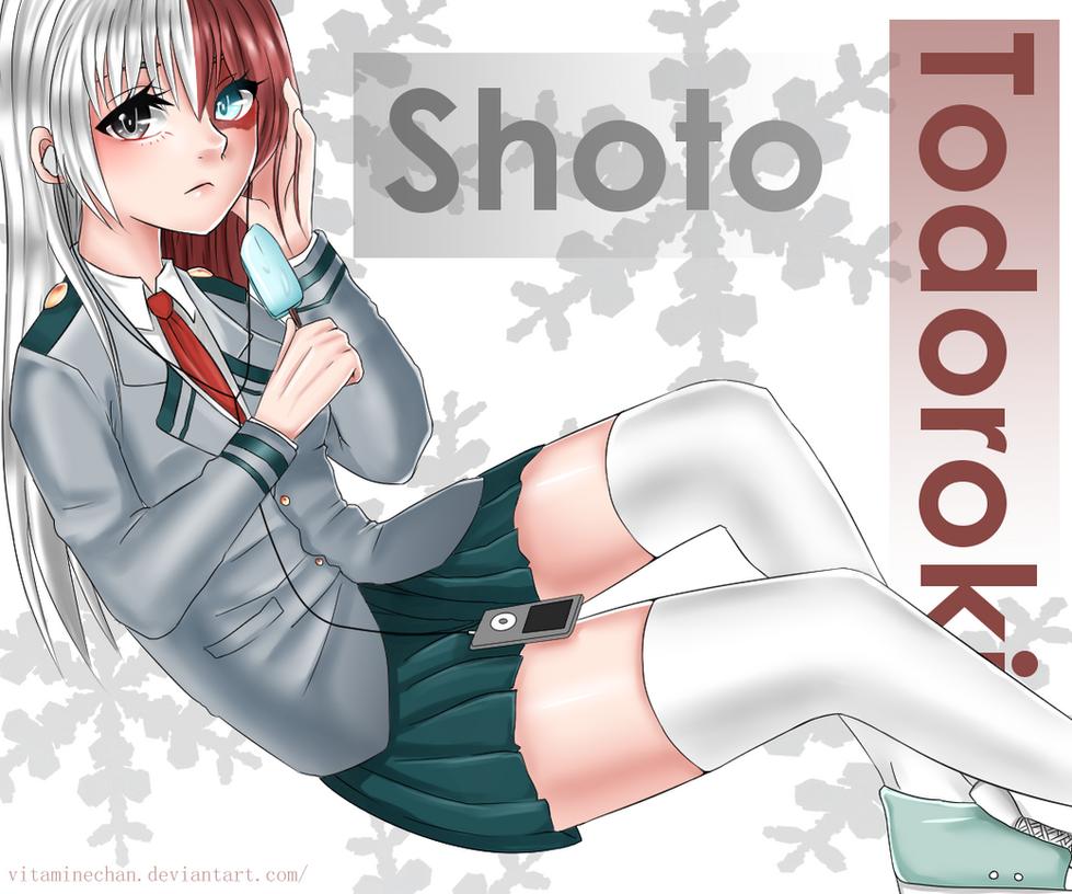 Fan art Shoto Todoroki by VitamineChan